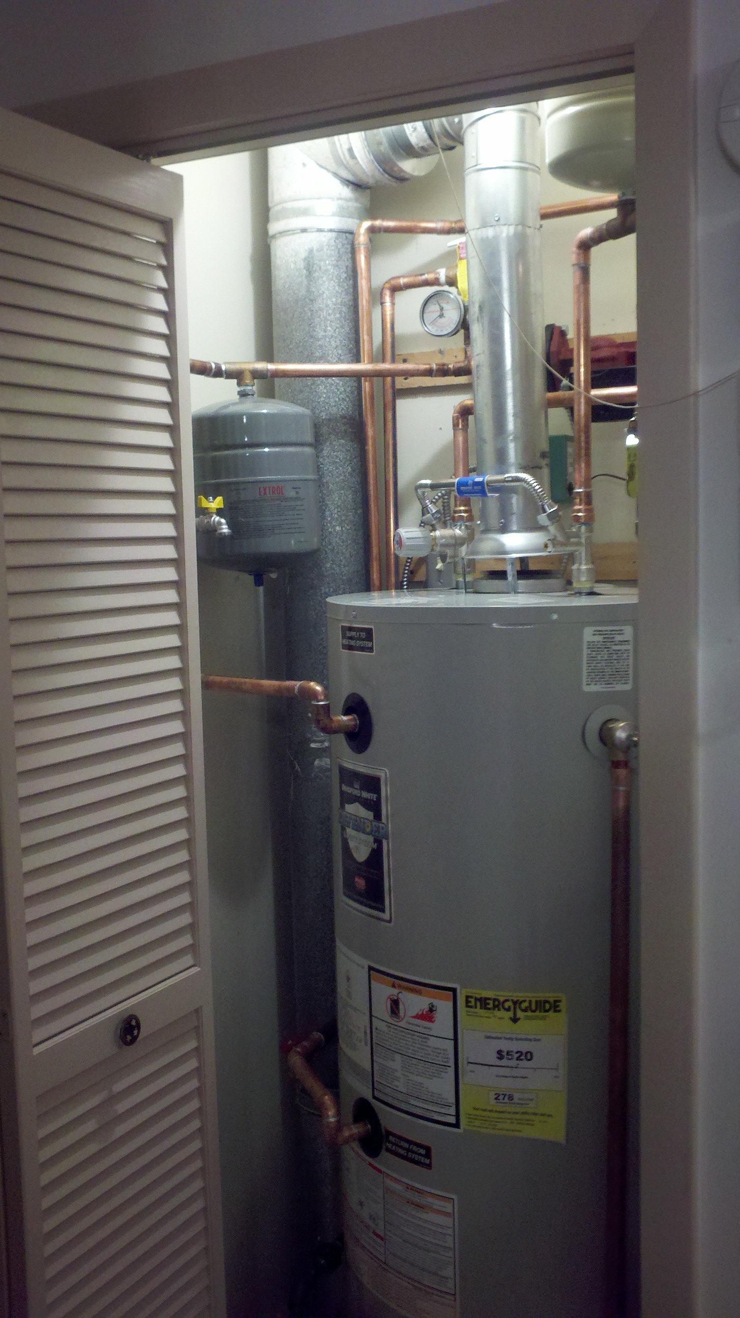 Bradford Water Heater >> Bradford White Combi Core. Gas Fired Heat and Hot Water Unit. | Steve's Blog!