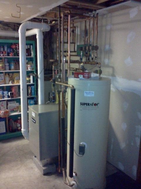 Weil McLain 90+ boiler for Rick Jones in Merrimack, NH. | Steve\'s Blog!