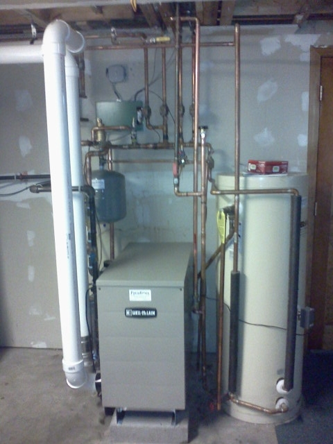 Weil McLain 90+ boiler for Rick Jones in Merrimack, NH. | Steve\'s Blog!